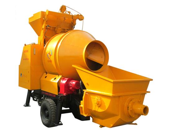 Concrete Pump Mixer